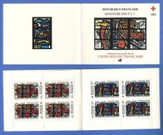 FRANCE CARNET 2030 NEUF ** CARNET CROIX-ROUGE 1981 - Markenheftchen