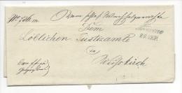 10691 - Lettre De  Troppau Pour Weisskirch 29.09.1849 - ...-1850 Préphilatélie