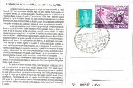 R 729. Tarjeta Exposicion MANACOR (Menorca) 1997, Exposiion Agopecuaria - 1931-Hoy: 2ª República - ... Juan Carlos I