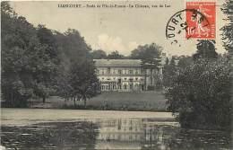 Dept Div- Oise  - Ref W145 -  Liancourt - Ecole De L Ile De France - Le Chateau Vu Du Lac - Ecoles   - Carte Bon Etat - - Liancourt