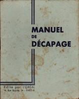 Publicité L'OREAL - M/ANUEL De DECAPAGE  -  Cheveux, Teinture - Fashion