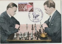 Echecs Chess Jeux Olympiques JO Nice 1974 - Chess