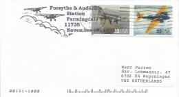 USA 1998 Farmingdale Alpha B-10 Airplane Flight Cover - Vliegtuigen