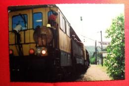 TRAIN MEULEUR LORAM SP ML 1214 - HYEVRE-PAROISSE ( Doubs ) LE 26 AVRIL 1994 - - Equipo