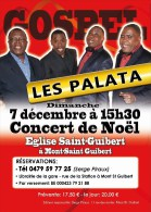 The Palata Singers - Affiche Concert à Mont-Saint-Guibert Le 07 Décembre 2014 - Manifesti & Poster