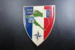 Insigne Et Pucelle   SFOR SC ZAGREB - Non Classés