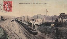 Nogent-le-Rotrou - Train En Gare 1909 - Nogent Le Rotrou