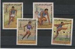 MAURITANIE : JO DE MOSCOU -  N° Yvert 425/428  Obli. - Mauretanien (1960-...)