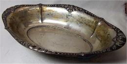 Antike Silberschale 835 - Silberzeug