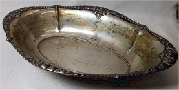 Antike Silberschale 835 - Argenterie