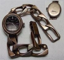 Damenarmbanduhr Massiv Silber 925 - Moderne Uhren