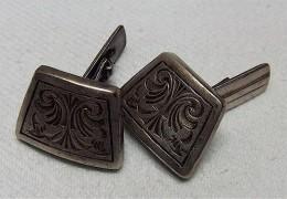 Antike Manschettenknöpfe Aus Opas Zeiten - Silber 835 - Cuff Links & Studs