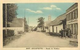 Dept Div- Nord  - Ref W122  - Ganspette - Route De Watten - Carte Bon Etat - - France
