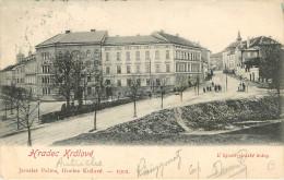 Tchequie : Hradec Kralové - Voyagée En 1902 - Tchéquie