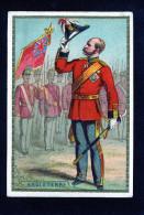 Chocolat François Meunier - Angleterre -  Militaire Salut Drapeau Epée - 10 302 - Cioccolato