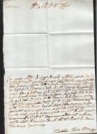 Italia Lettera 1737 ? (1) - Historische Dokumente
