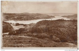 POSTCARD 1950 CA. OBAN AND SOUND OF KERRERA - Scotland