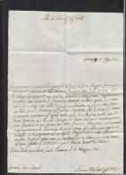 Italia Lettera Cancellaria Civila 1781 - Italien