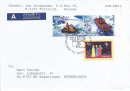 AAT Antarctic 1999 Melbourne World Stamp Expo Snow Scooter Polar Ship Cover - Australisch Antarctisch Territorium (AAT)