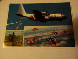 Largages Des Parachutistes - Aviation