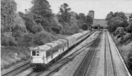 West Ealing Railway Station Class 73 - Railway