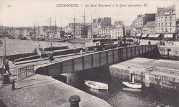 Cherbourg - Pont Tournant Et Bassin Du Commerce - Tramway - Cherbourg