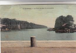 CPA Carentan, Le Port Et Ses Promenades (pk15310) - Carentan