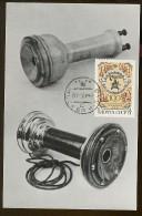 CARTE MAXIMUM CM Card USSR RUSSIA Telephone Apparatus Phone Communication Simens Bell - 1923-1991 USSR
