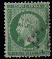 France, Napoléon N° 20,oblitérationGC   ( 14/clas094) - 1862 Napoleon III