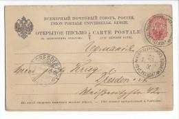 10704  -  Entier Postal 1902 Pour Dresden Avec Carte Réponse - 1857-1916 Empire