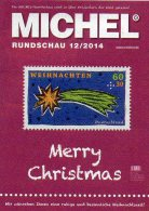 Briefmarken Rundschau MICHEL 12/2014 Neu 6€ New Stamp Of The World Catalogue And Magacine Of Germany ISBN4 194371 105009 - Télécartes