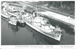 """CP PHOTO: """" LE BOULONNAIS """" - ESCORTEUR-RAPIDE  F 763 -  18-6-1973   (  -   BATEAU DE GUERRE   ) - Guerre"""