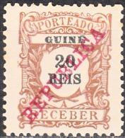 GUINÉ- (PORTEADO)-1911,  Tipo De 1904, Com Sobrecarga «REPUBLICA»   20 R.  * MH  Afinsa  Nº 13 - Portuguese Guinea