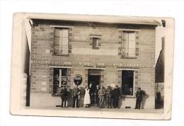 CARTE PHOTO COMMERCE :EPICERIE MERCERIE - CAFE DE L�EPINE -  BILLARD -