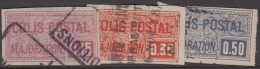 Colis Postaux  Dallay N° 19 à 21 Oblitérés TB (cote 40 € ) - Colis Postaux