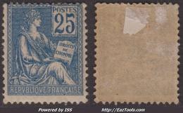 25c Mouchon Neuf * TB (Y&T N° 118, Cote: 160€) - 1900-02 Mouchon