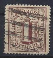 Germany (Hamburg)  1864  (o)  Mi.11 - Hambourg