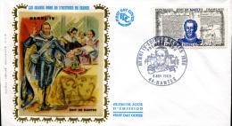 FDC Henri IV - Nantes (44) Du 8 Novembre 1969 - 1960-1969