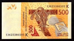 SENEGAL  : 500  Francs- 2012 - UNC - Senegal