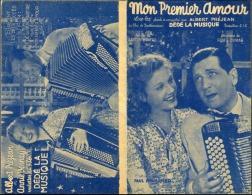 40 60 PARTITION ALBERT PRÉJEAN MON PREMIER AMOUR FILM DÉDÉ LA MUSIQUE VERNAY MONTHO DUMAS 1939 VERSO IMPRIMÉ - Music & Instruments