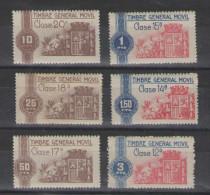 1937/40 General Movil,sin Fijasello,nuevo          #518 - Impuestos De Guerra