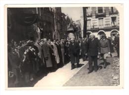 Regime De Vichy: Hommage Etudiants Au Marechal Petain 9 Avril 1942, Jerome Carcopino, Marechal Petain Et General Laure - Guerre, Militaire