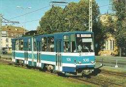 TRAM * TRAMWAY * RAIL * RAILWAY * RAILROAD * TATRA * TALLINN * ESTONIA * ESTONIAN * Top Card 0182 * Hungary - Tranvía