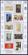1986  Bicentenaire De La Naissance De Dr José Maria Vargas  Bloc De 10 Et Bloc Feuillet ** MNH - Venezuela