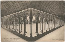 50 - Mont-St-Michel - Abbaye. Galeries Du Cloître - Edition Spéciale De L'Abbaye / J. P. 39 - Le Mont Saint Michel