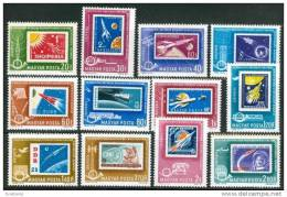HUNGARY - 1963. Conference Of Postal Ministers Cpl.Set MNH! - Briefmarken Auf Briefmarken