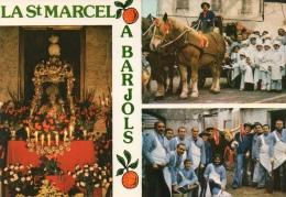 VAR 83 BARJOLS FÊTE DE LA SAINT MARCEL FÊTE DES TRIPETTES LES ANNÉES 70 - Barjols
