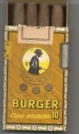 Cigares BURGER - Burger Sohne, Emmendingen  ALLEMAGNE - Ohne Zuordnung