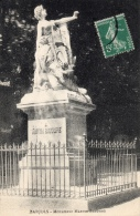 VAR 83 BARJOLS MONUMENT MARTIN BIDOURÉ - Barjols