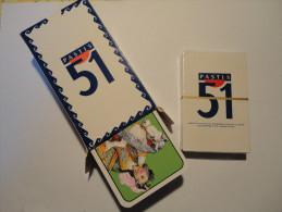 PASTIS 51 - JEU DE 78 CARTES . - . + JEU DE 32 CARTES OFFERT. JAMAIS SERVI